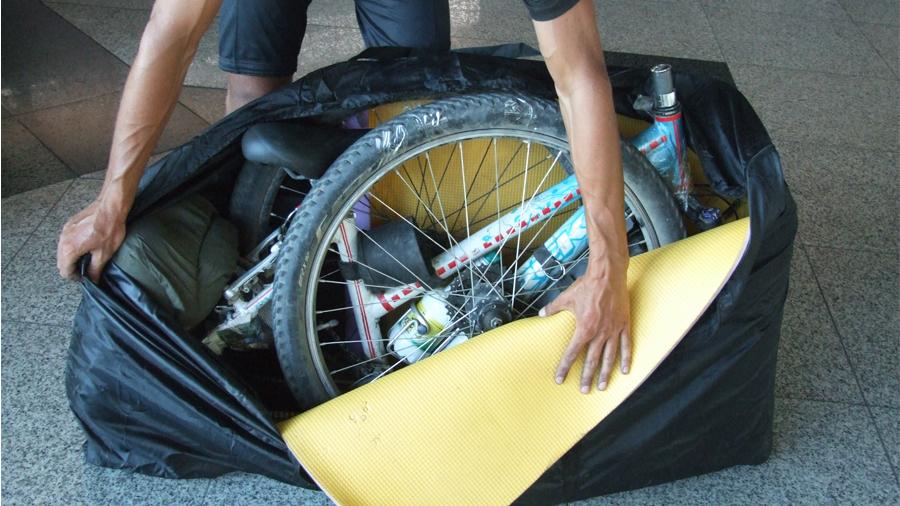 Полная разборка велосипеда для авиаперелета