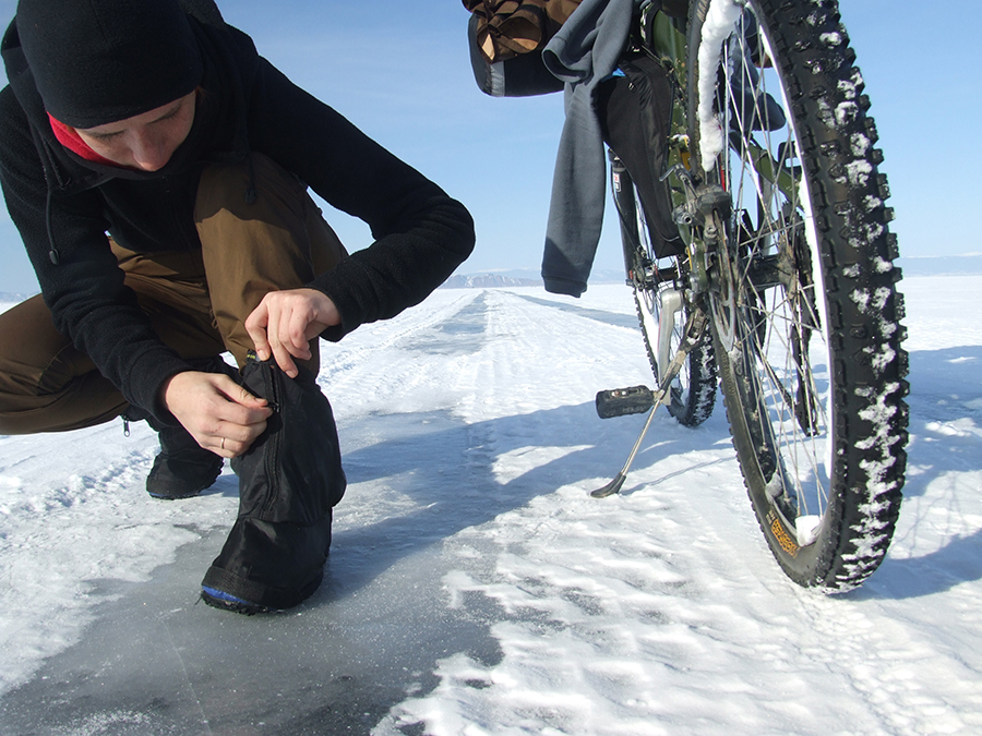 одежда для зимнего велопохода