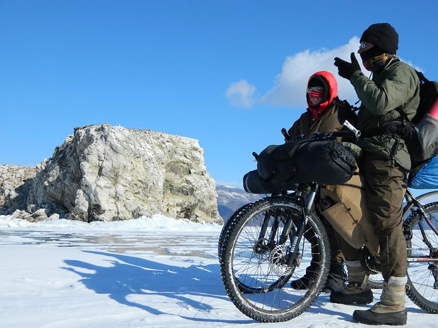 велопоход зимой особенности