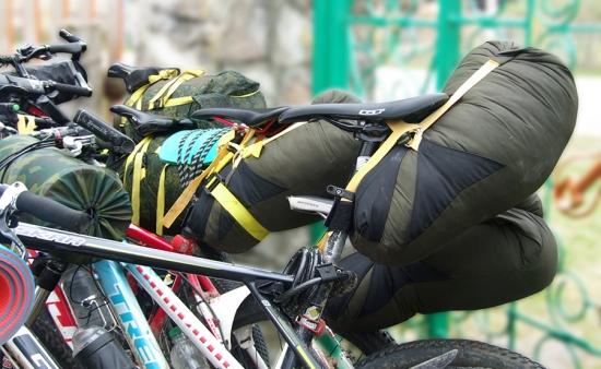 Сумки для велосипеда в походе