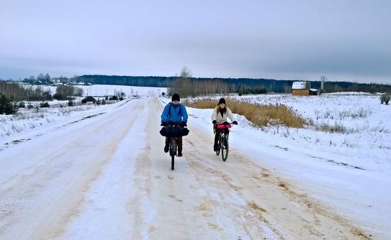 Езда на велосипеде зимой: как подготовиться?