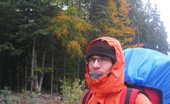 Чехол на рюкзак + емкость для воды